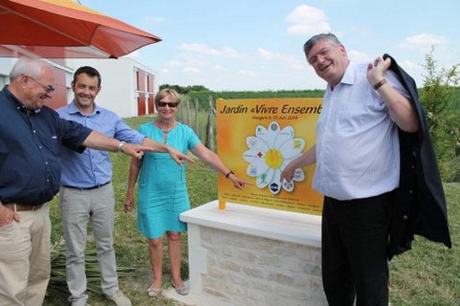 Poitou-Charentes : un jardin «VIVRE ENSEMBLE» à Barbezieux