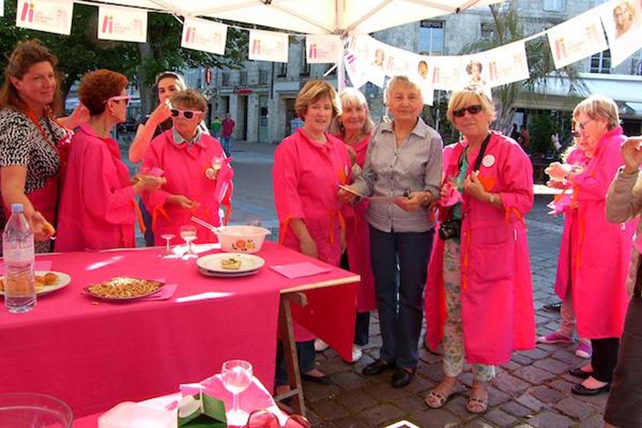 La Rochelle : la vie en rose....