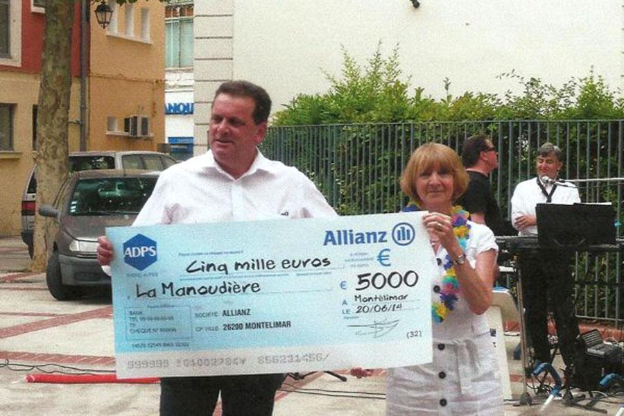 Montélimar : soutien de l'ADPS à l'équipement d'une maison de retraite