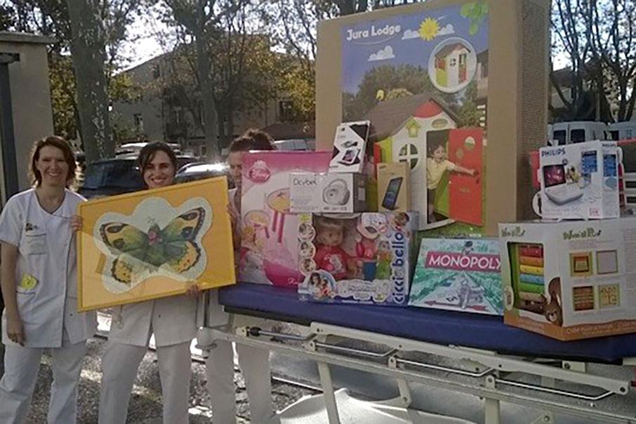 Languedoc-Roussillon : des jeux pour les enfants hospitalisés