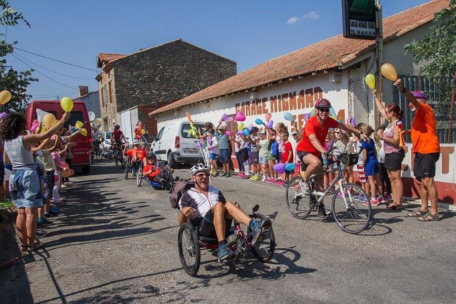 """Aude : handisport avec """"Entre Vues Audoises"""""""
