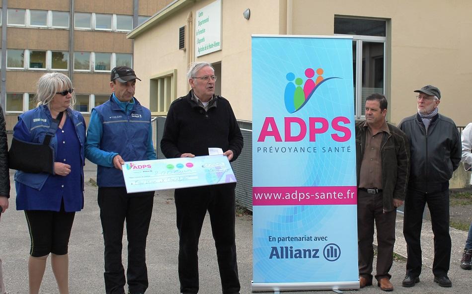L'ADPS Limousin soutient la marche nordique.