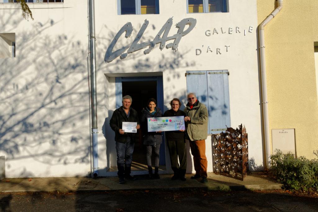 500 € pour « Le CLAP galerie d'art »