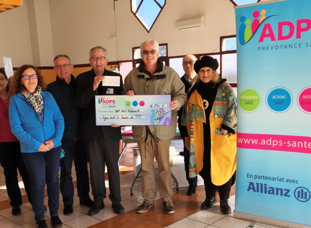Mars Bleu: un don pour la Ligue Nationale Contre le Cancer dans les Pyrénées Orientales