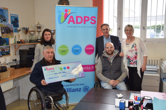 L'ADPS de Bretagne: Soutien pour le handisport