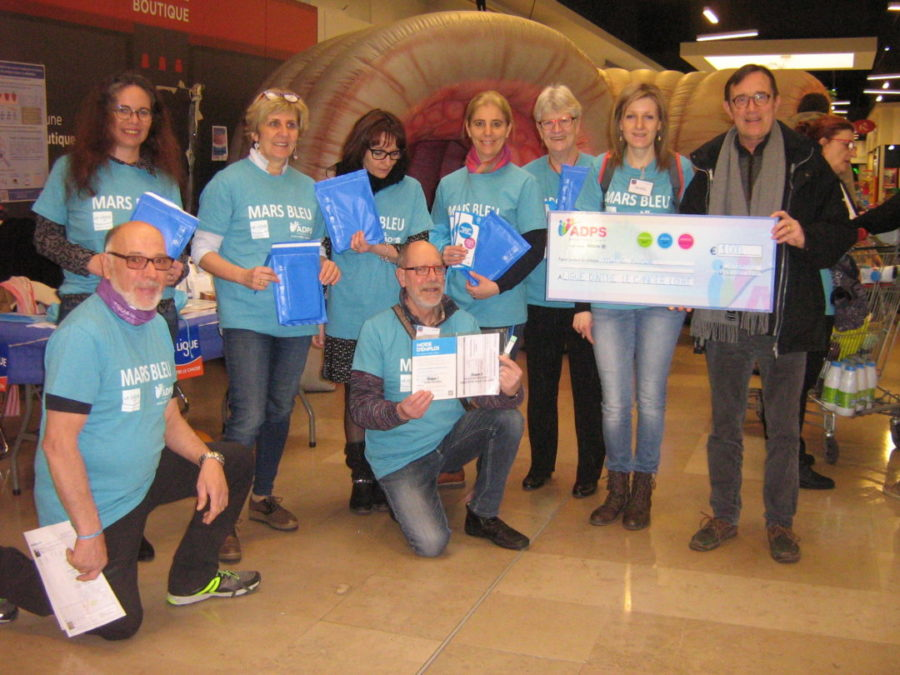 Mars Bleu Rhône-Alpes : L'ADPS, acteur engagé