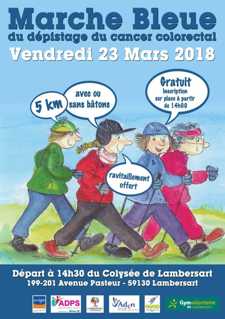 Mars bleu : L'ADPS  Nord-Pas-de-Calais s'engage pour le dépistage du cancer colorectal