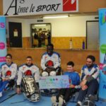 Angers: un don au club de Hawk Hockey Luge