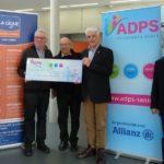 Mars Bleu: un don de 1 000 € de l'ADPS Alsace
