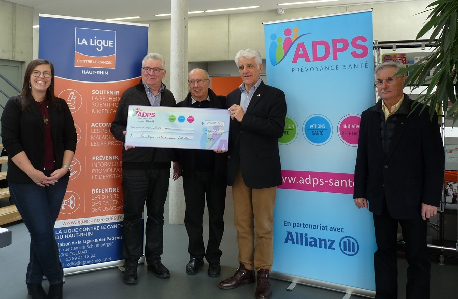 Mars Bleu : un don de 1 000 € de l'ADPS Alsace