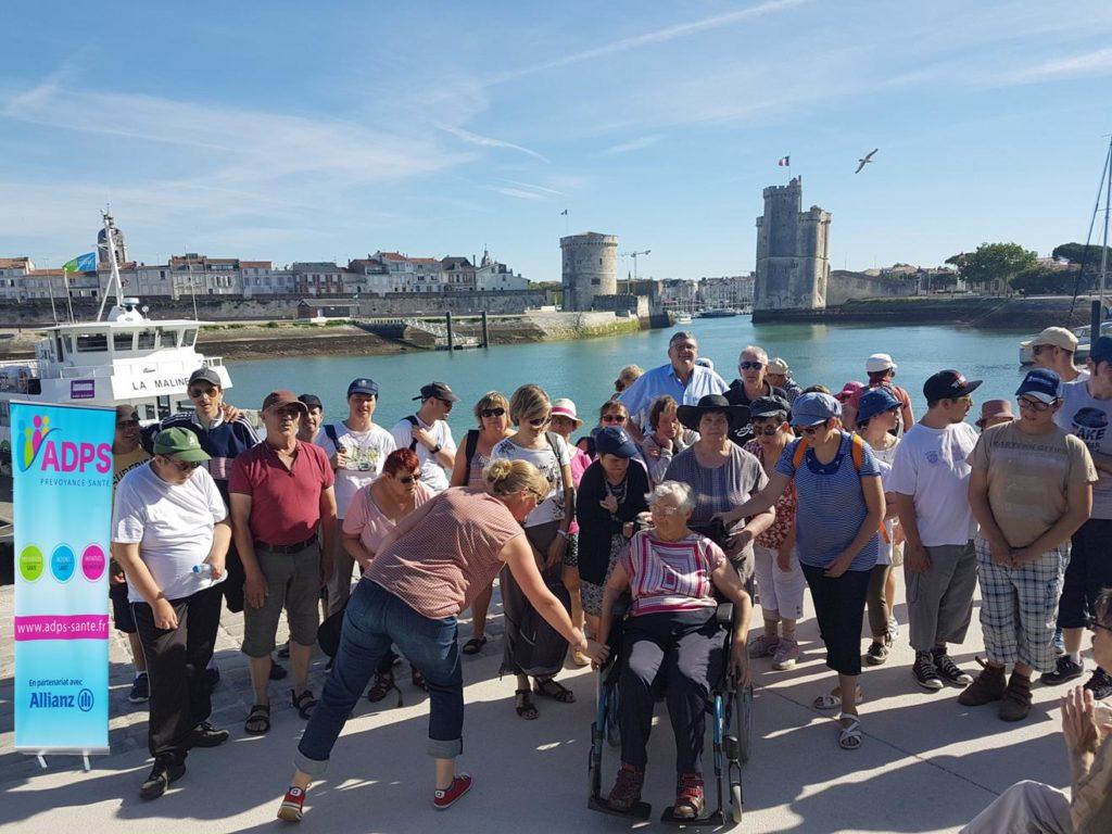 L'ADPS Poitou-Charentes: une croisière pour 110 personnes en situation de handicap