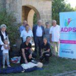 L'ADPS du Limousin : un défibrillateur pour la Mairie de Veix