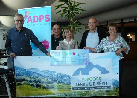 Un don à l'association « Vercors terre de répit »