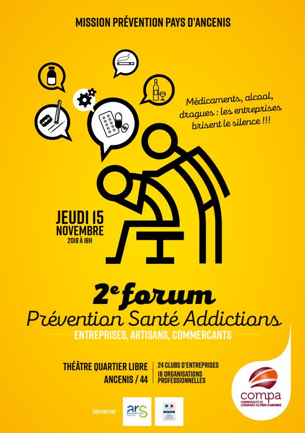 Conférences sur les addictions dans le monde du travail