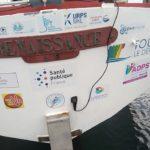 Route du Rhum abandon du bateau de l'association le Souffle Court