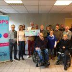 Un don à l'Handisport de l'Aude