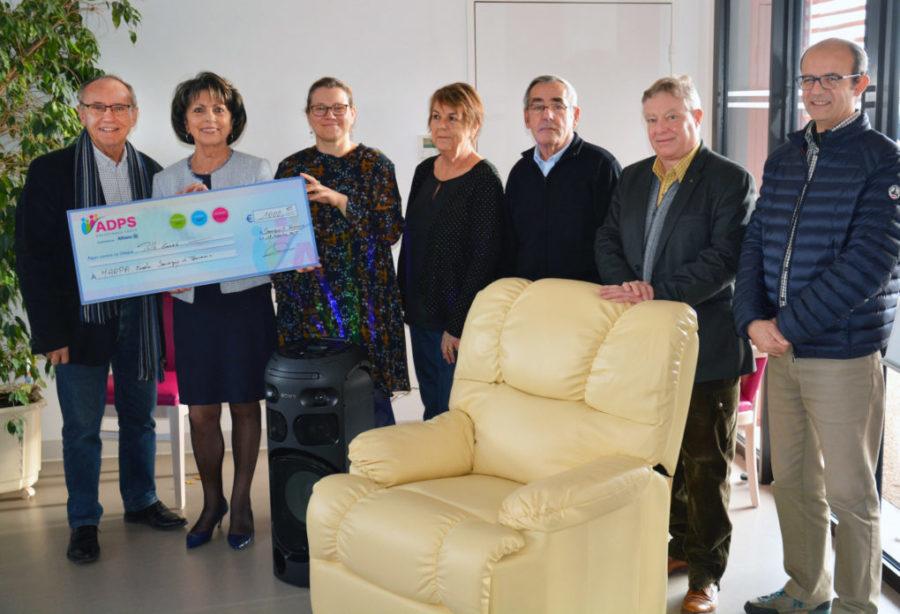 """Un don à MARPA-École """"les 2 Aires"""", résidence pour personnes âgées"""