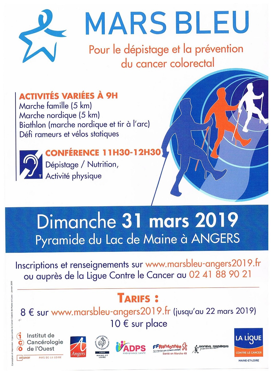 Marche Bleue Angers