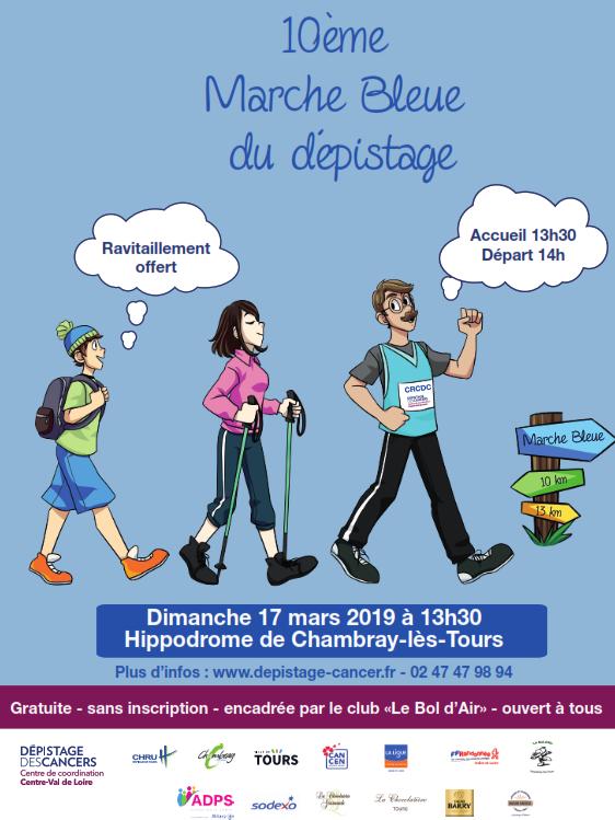 Marche Bleue du dépistage - Chambray-lès-Tours -