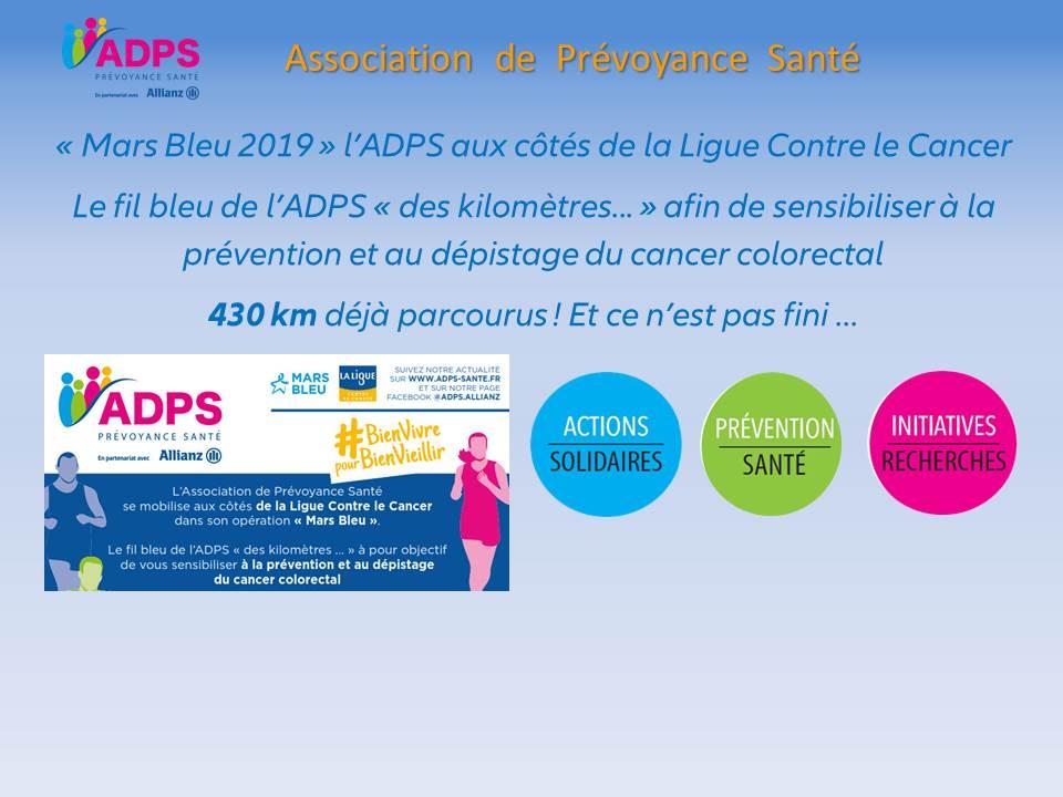 1 km mars bleu 2019