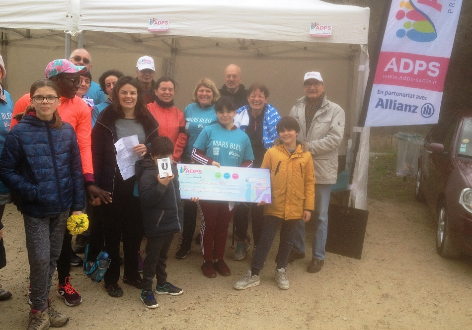 Mars Bleu 2019. Course et marche nordique à Soisy sur Seine