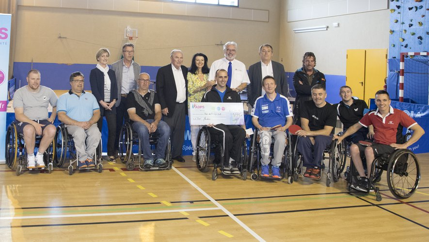 L'ADPS soutient le club de tennis de table de Mende