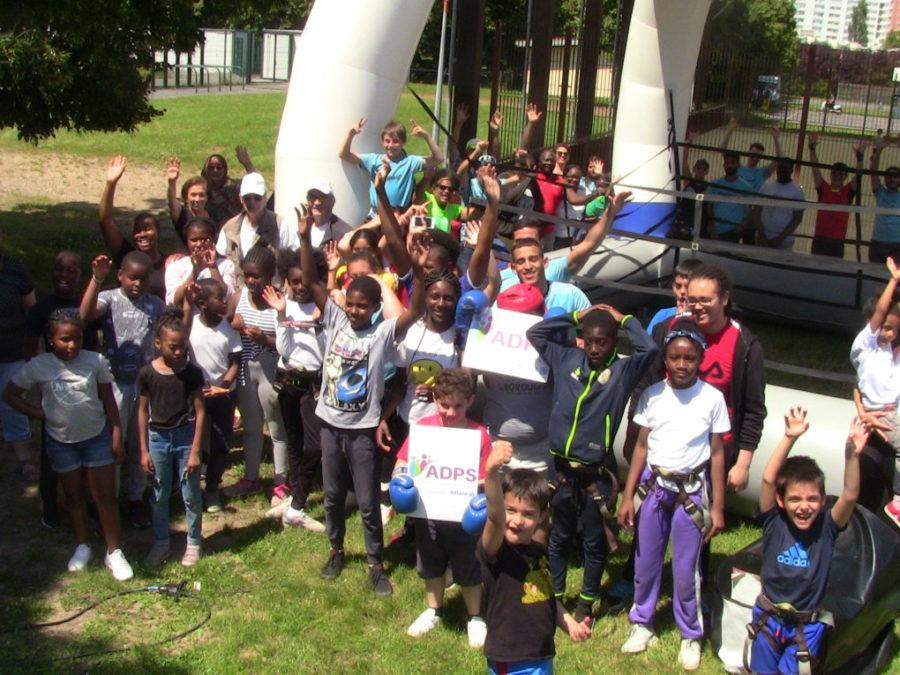 Action Prévention santé au Parc des Sports de LA Courneuve