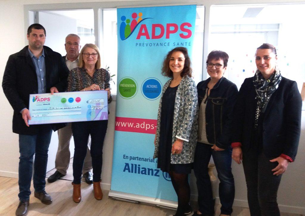 HAGETMAU : L'ADPS soutient l'association LA HOLI