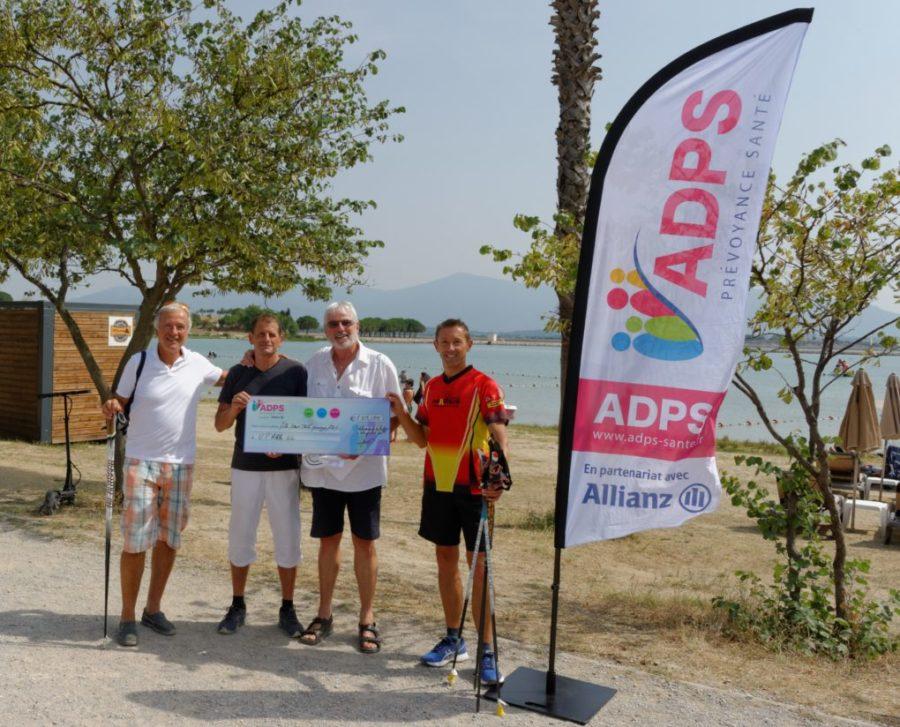 Remise de don au Club Union Perpignan Atlhetic  Marche Nordique