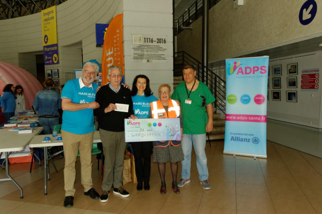 La Ligue contre le cancer des Pyrénées Orientales soutenue par l'ADPS