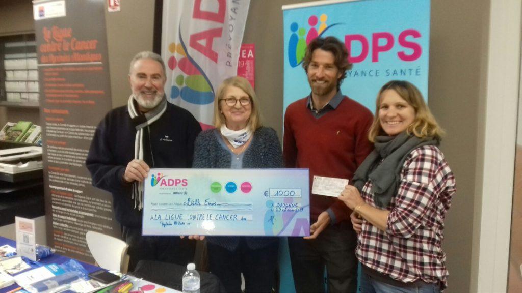 110 kilomètres parcourus en soutien à la ligue contre le cancer