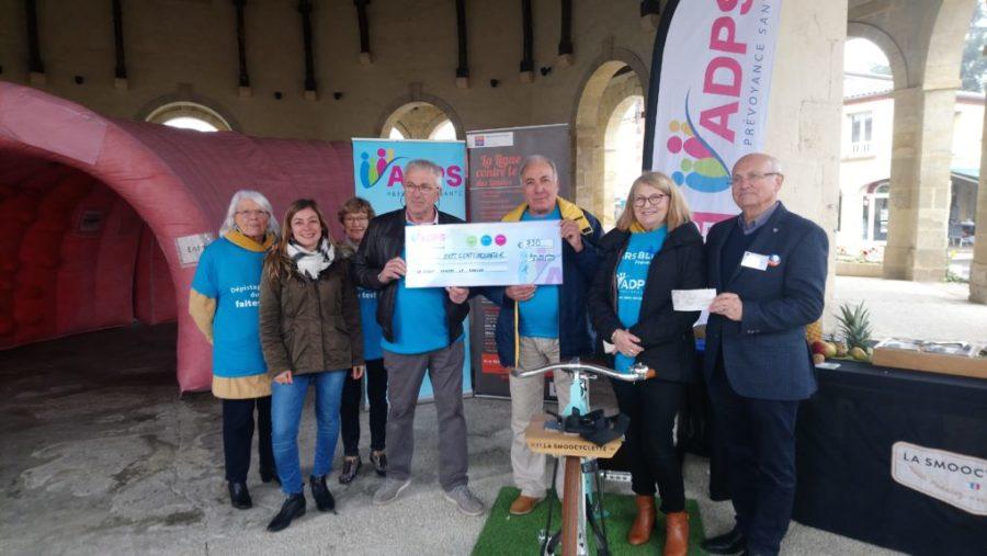 Mars Bleu : L'ADPS soutient La Ligue contre le cancer des Landes