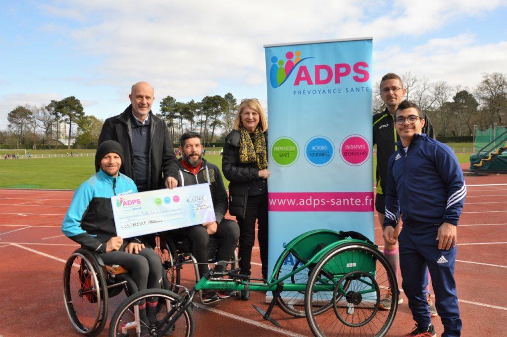 L'ADPS  soutient «L'US TALENCE  Athlétisme»