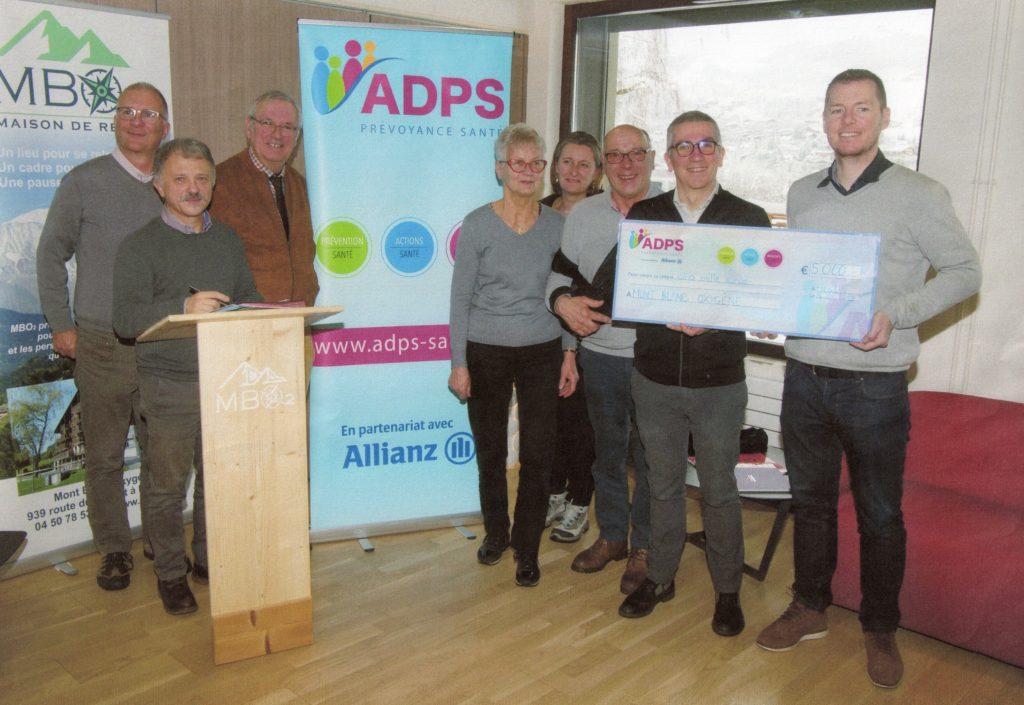 Premier soutien financier de l'ADPS à la maison de répit «Les Grands Monts»