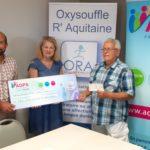 L'ADPS soutient l'association ORA Aquitaine