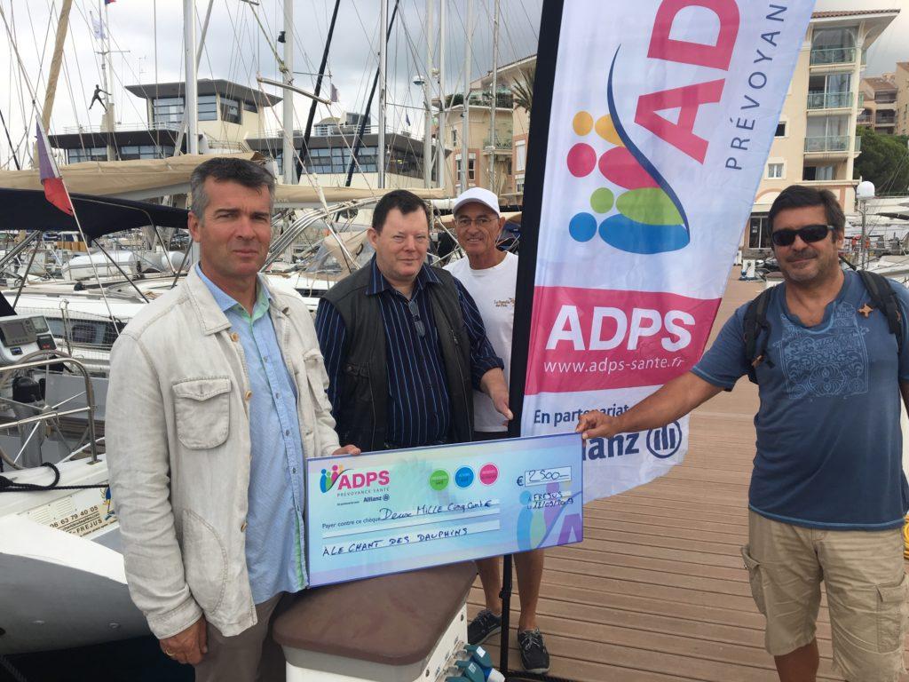 L'ADPS sur les flots avec l'association «Le chant des dauphins»