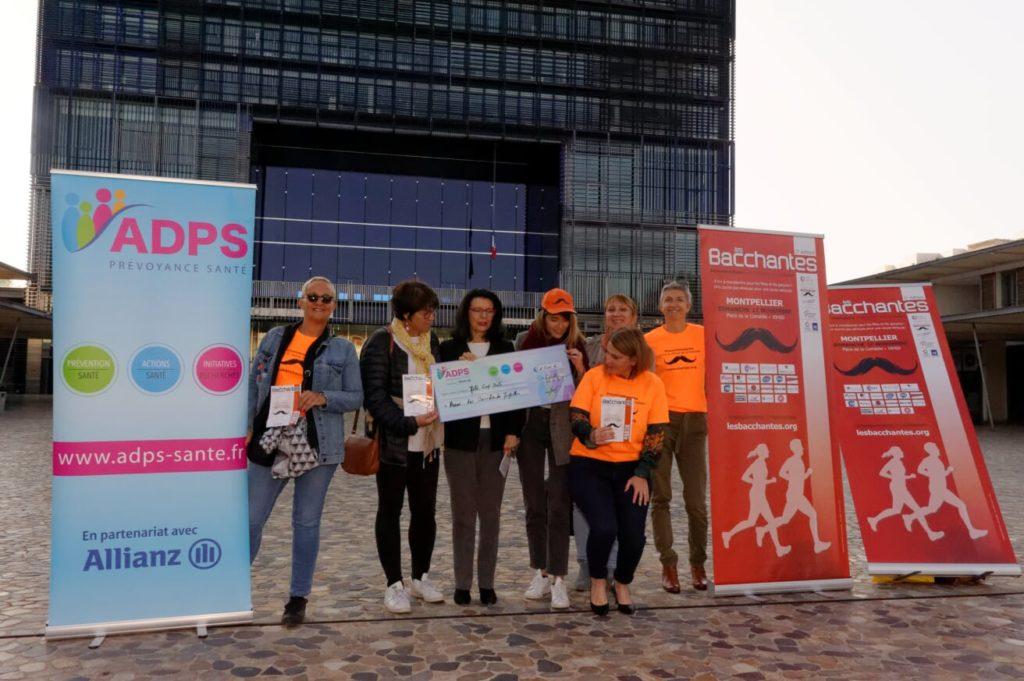 L'ADPS se lance dans la course avec l'association Les Bacchantes de Montpellier