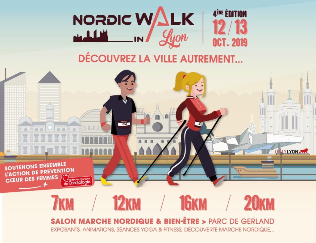 L'ADPS répond présent au NordicWalkIn Lyon 2019