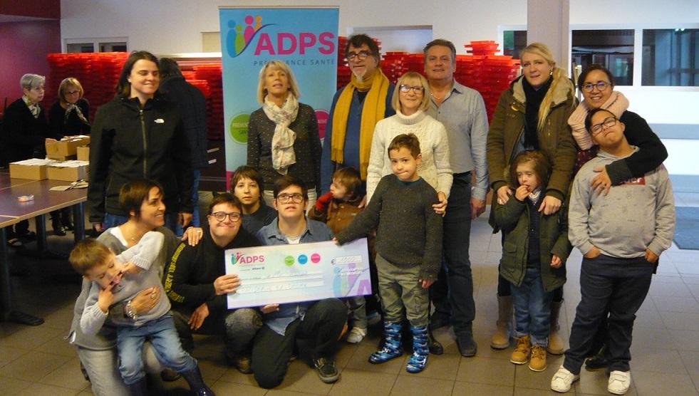 Remise de don Association Drôme trisomie 21