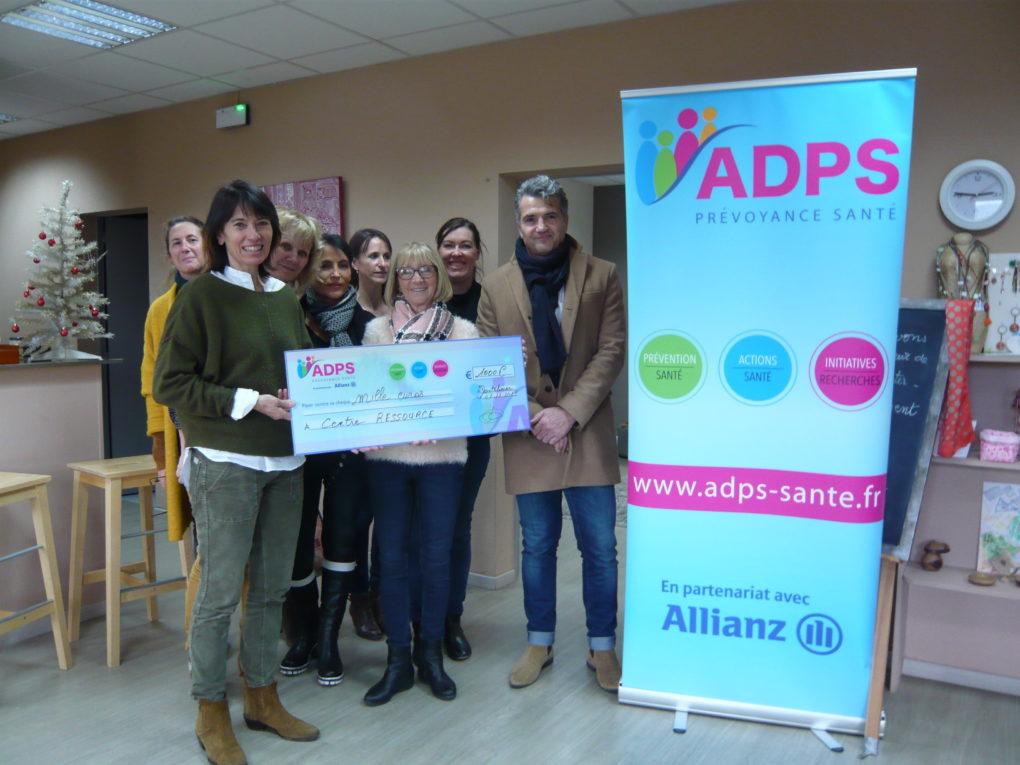 L'ADPS soutient le Centre de ressource de Montélimar