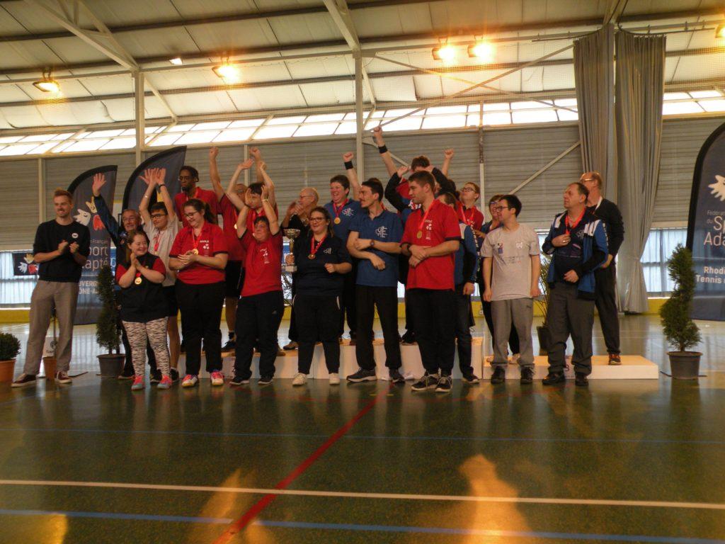L'ADPS soutient le Championnat de France de tennis de table sport adapté