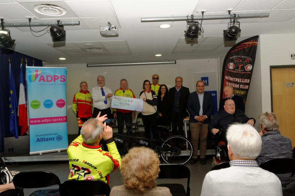L'ADPS soutient le Montpellier Tandem Club Handisport