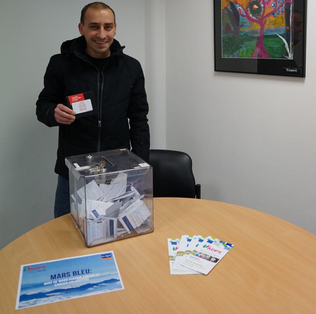 « Fil bleu » contre le cancer colorectal au Centre de Réadaptation de Mulhouse
