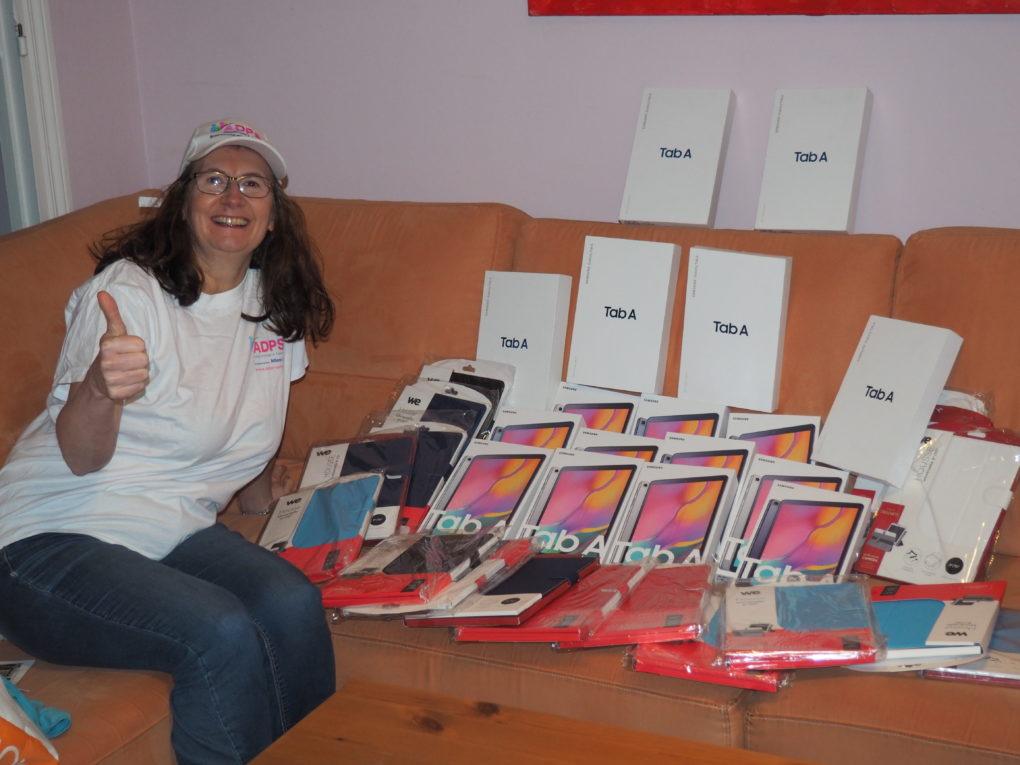 Des tablettes numériques pour les EHPAD de l'Aisne et de l'Oise