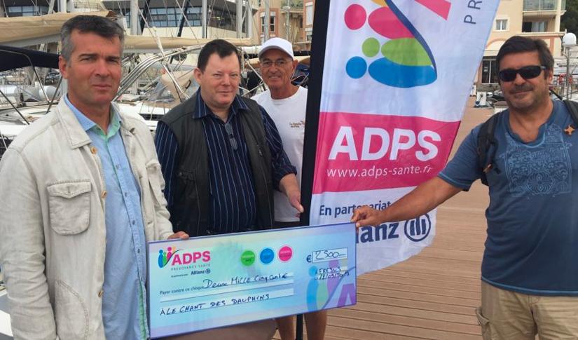 """L'ADPS sur les flots avec l'association """"Le chant des dauphins"""""""