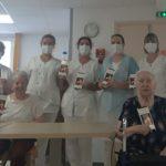 Une belle initiative solidaire pour  l'EHPAD ''La Roque''