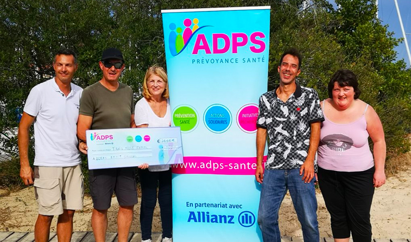 "L'ADPS soutient l'Association ""Ocean Spirit Sailing"""