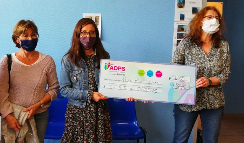 """L'ADPS soutient l'opération """"un masque pour les soissonnais"""""""