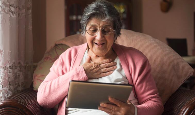 Un beau geste de générosité pour les résidents et les soignants