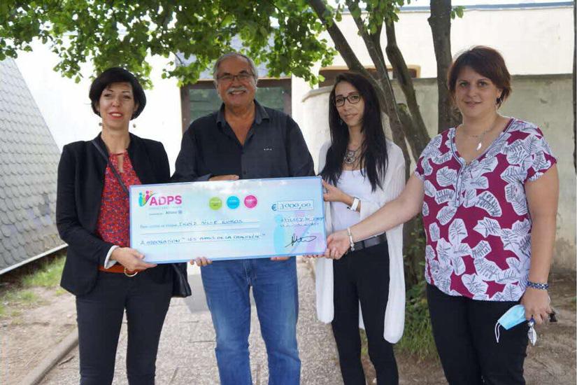 """L'ADPS apporte son soutien aux """"Amis de La Chaumière"""""""